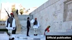 Атина- македонскиот претседател Пендаровски e прв кој е во официјална посета на Грција по осамостојувањето на земјата во 1991 година