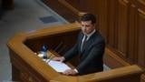 Президент України Володимир Зеленський виступає із щорічним посланням до парламенту. 20 жовтня 2020 року