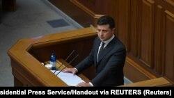 Зеленський заявив, що вже перебуває в будівлі Офісу президента на вулиці Банковій у Києві
