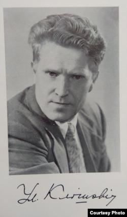 Уладзімер Клішэвіч. Пачатак 1960-х гг. (Нацыянальная бібліятэка Беларусі)