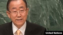 """Ban Ki Mun još jednom je pozvao na """"okončanje košmara"""" u Siriji"""