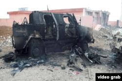پیشمرگهها درگیر نبردی سخت با اسلامگرایان در منطقه سنجار بودند