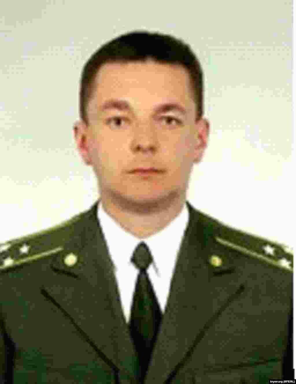 Сергей Бережной, бывший начальник сектора кадрового обеспечения Управления военной контрразведки крымского главка СБУ