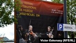 Afiș al Festivalului la Wissembourg