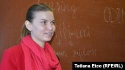 Profesoara Maria Cojocaru, Nisporeni