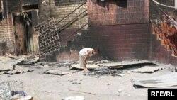 Беспорядки в Киргзии привели к гибели людей и разрушениям.