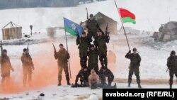 Паказальны выступ беларускага спэцназу 23 лютага 2013 году, ілюстрацыйнае фота
