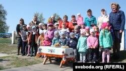 Выхаванцы дзіцячага садку сустракаюць «Намскі Вялікдзень»