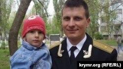 Станіслав Карачевський із сином