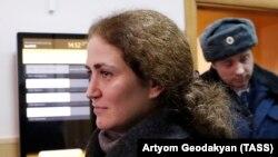 Директор РАМТ Софья Апфельбаум в здании суда