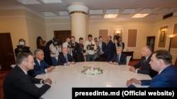 Discuții la președinție, conduse de Igor Dodon, Chișinău, 26 martie 2019