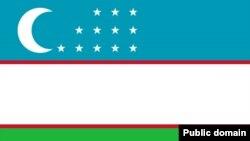 Uzbekistan -- Uzbek national flag