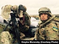Дмитро Муравський поблизу Донецького аеропорту