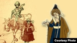 «Molla Nəsrəddin» dərgisindən (1906-1920) karikatura