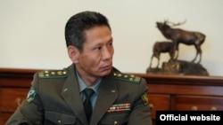 Глава Погранслужбы КР Матенов