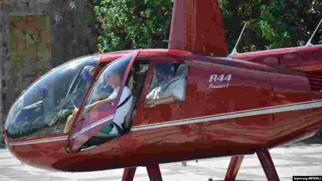 Филипп Киркоров в вертолете