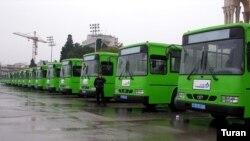 ДЭУ чиқараëтган янги автобуслар.