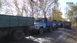 Алматыдағы көмір кезегі