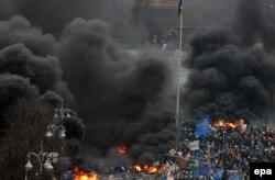 Столкновения в центре Киева, 20 февраля 2014 года