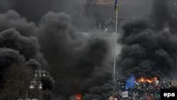 Mustaqillik Meydanı, Kyiv, 2014 senesi fevralniñ 20-si