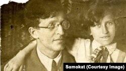 Марьяна Козырева с отцом