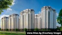 Проект жилого комплекса «Южный квартал» компании «Ихлас». Фото взято с официального сайта ihlas.kg.