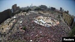 تظاهرات مخالفان محمد مرسی در میدان تحریر قاهره