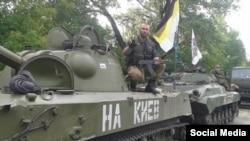 Антон Раевский в армии ДНР
