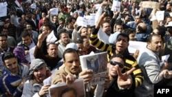 Tahrir meýdançasyndaky çaknyşyk