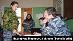 Капитан полиции Оксана Семыкина