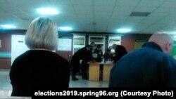 Բելառուսում խորհրդարանական ընտրություններ են, Մինսկ, 17-ը նոյեմբերի, 2019թ.