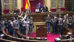 Momenti i shpalljes së pavarësisë të Katalonjës