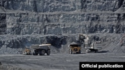 Рудник Кумтор в Кыргызстане - крупнейший актив Centerra Gold Inc.