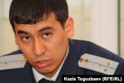 Ренат Ашеков, сотрудник прокуратуры города Алматы. Алматы, 12 декабря 2012 года.