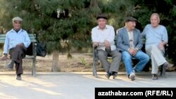 Пенсионеры, Ашхабад