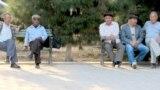В парке Ашхабада