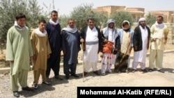 مواطنون من أبناء طائفة الشبك في برطلة شرق الموصل