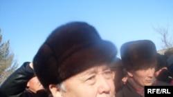 Opposition leader Omurbek Tekebaev