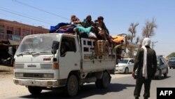 Barlag-geçiş nokady, Owganystanyň Helmand welaýaty, 9-njy awgust, 2016