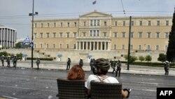 Атина - зградата на парламентот