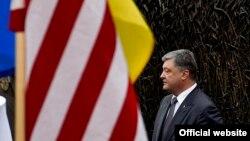 Петро Порошенко під час робочого візиту до США
