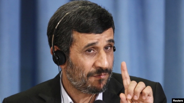 Iranian President Mahmud Ahmadinejad is well known for his devotion to the Hidden Imam. (file photo)