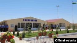 Станция «Сурханабад» на узбекско-туркменской границе. Фото с сайта АО «Узбекистон темир йуллари».