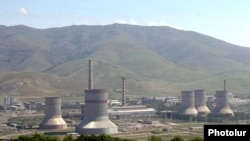 Armenia -- A thermal power plant in Hrazdan.