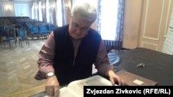 Paul Roczek na Muzičkoj akademiji Sarajevo
