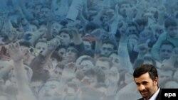 "Iranian President Mahmud Ahmadinejad: ""Sanctions will not harm Iran."""