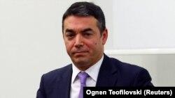 Шефот на македонската дипломатија Никола Димитров