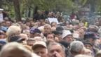 Penzioneri su izašli na ulice u oktobru 2017. u Sarajevu