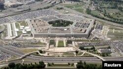 Пентагондун асмандан көрүнүшү.