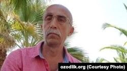 Узбекский политэмигрант Сафар Бекжан.